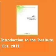 Introduction to the Institute October 2019 (PDF)